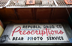 Bear Photo Service (Thomas Hawk) Tags: sanfrancisco california usa chinatown unitedstates unitedstatesofamerica pharmacy drugstore bearphotoservice photowalking7 republicdrugcompany