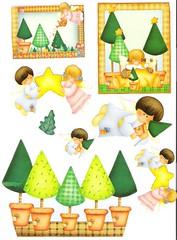 Presepio_7 (Lucia Helena Cesar) Tags: christmas natal noel papai riscos moldes patchcolagem apliquee