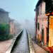 Via dell'Acquedotto .... e nebbia