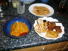 First ever from scratch gauri curry and roti! (Laquet) Tags: food blog curry homecooking roti chappati foodwevecooked foodweveeaten
