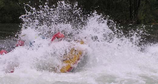 Extrem rafting