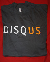 Disqus T-Shirt Found in BenSpark's Big Box of ...