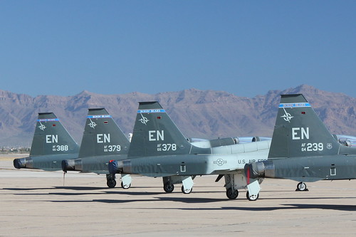 Airplane picture - T-38 Talon tails