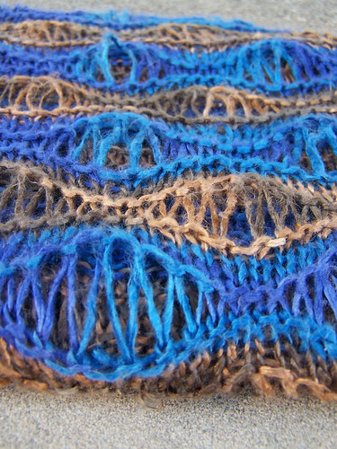 Mom's Morning Surf Scarf texture
