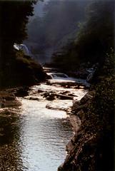 095 Letchworth - Lower Falls (FotoManiacNYC) Tags: ny newyork nature water creek river stream outdoor dam empty dry canyon falls glen waterfalls drought gorge fingerlakes dryseason grandcanyonoftheeast naturewatcher