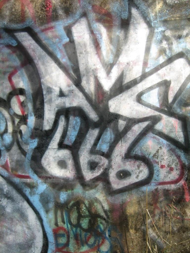 Amc 666 d360ms tags graffiti paint 666 amc cloverdale northbay