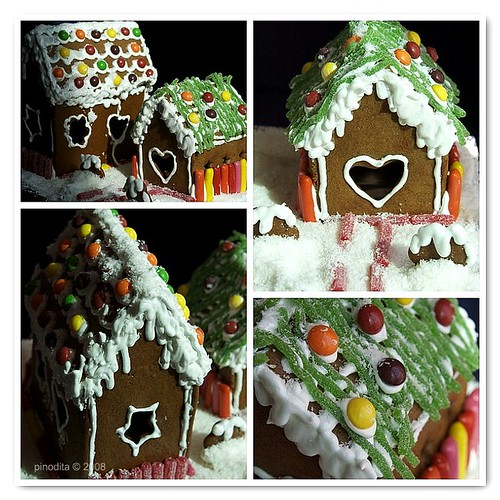 Weekend project : Gingerbread house