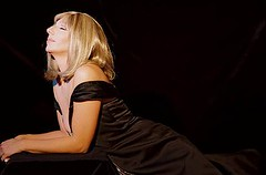 Sharon Owens as Barbra Streisand.