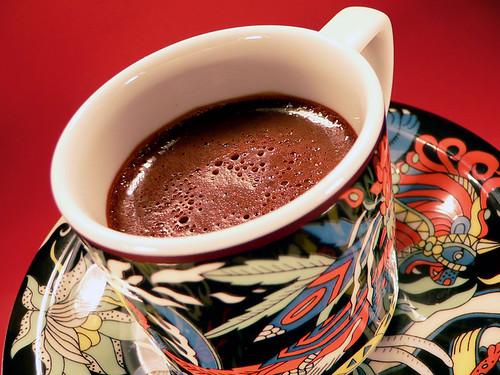 Schokoladentöpfchen mit Vanille & Piment
