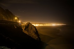From Cliff House at night (Noel Cornell) Tags: ocean sanfrancisco california sky usa cloud water rock sand pacificocean oceanbeach ef2470mmf28lusm outersunset
