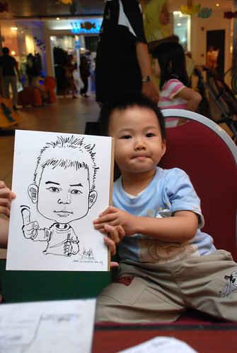 Caricature live sketching for Marina Square Day 2 - 24