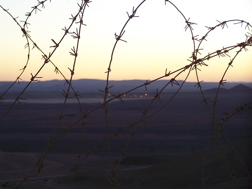 Israeli-Egyptian border by Cornelius Kibelka, on Flickr