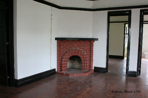 Dining Area Fireplace