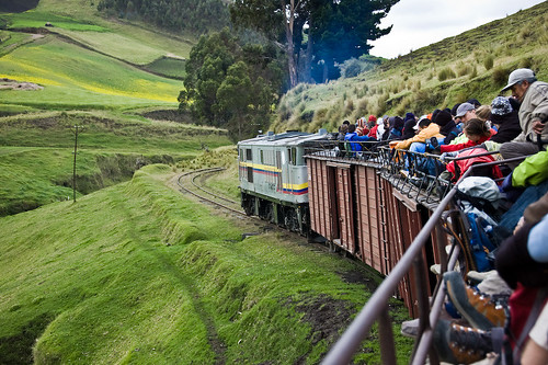 Train from Riobamba