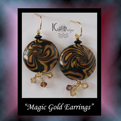 Magic Gold Earrings