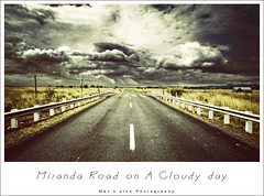 Miranda Road on a Cloudy Day