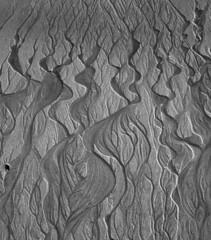 Sand 4610 (Stuart Royse) Tags: abstract beach sand patterns deltas freshwater sandpatterns