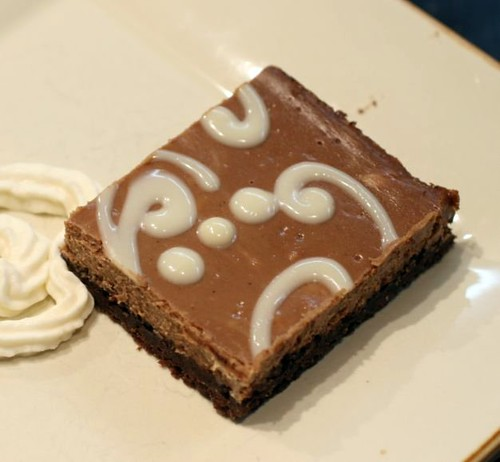 Chocolate Cappuccino Cheesecake Squares 2