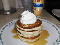 banana pancake stack {explored} (iheartkitty) Tags: pancakes breakfast yummy banana iheartkitty