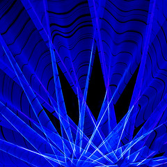 a2754 Kinetic Blue (tengtan (away awhile)) Tags: blue lines wheel geometry curves radiation melbourne ferriswheel rotation abstraction experimentation abstracts radial teng rotated thursdaychallenge cameramovement oberflchen kineticphotography 500x500 auselite colourartaward tengtan