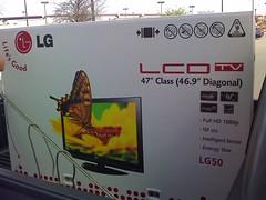 "47"" LG50 TV"