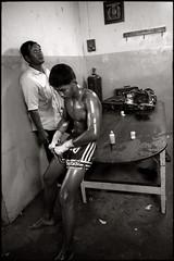loneliness and concentration (fly) Tags: thailand asia stadium bangkok boxe muaythai thaiboxing ratchadamnernstadium fly simonkolton