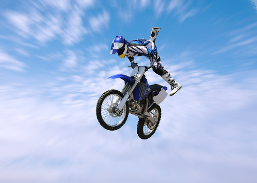 dirt bikes stunts