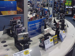 Too many camcorders at Best Buy