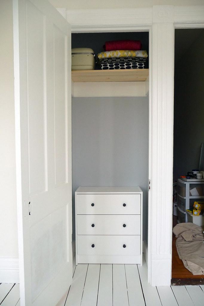 Inside The Closet.
