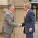 Peter Robinson meets George Bush