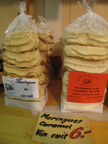 Meringues & Double Cream in Gruyères, Switzerland