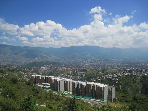 View toward downtown Medellin