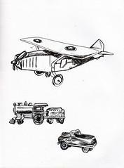 trains, planes, automobiles