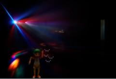 Twitter 365 - Ft Yotsuba [031] (KayVee.INC) Tags: cute robot dance lol january lasers kawaii rave 2009 kaiyodo yotsuba danbo isuckatphotoshop  cavey robotdance twitter revoltech kayvee  twitter365 imreallybadatit danboard kayveeinc revoltechyotsuba 310109 tryadjustingthelevels