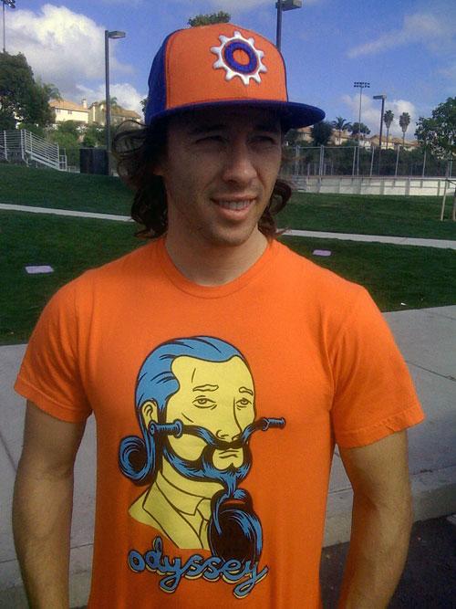 Gary Young and the orange hairbike man.