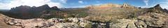 Brins Mesa Panorarma (deborah.soltesz) Tags: arizona panorama hiking sedona trail redrocks xlpan