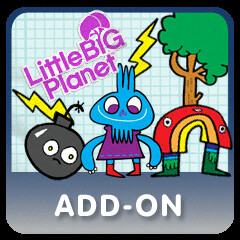 LittleBigPlanet Add- On, Jon Burgerman Sticker Pack