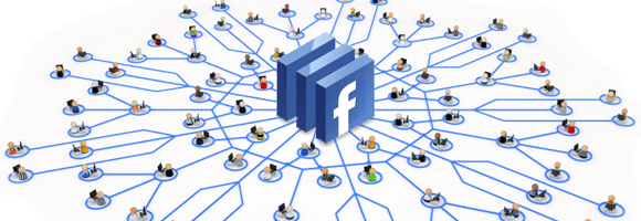 Facebook at the center of the web