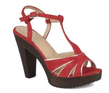 Valensi Dill Red sandals