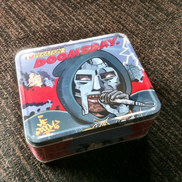 Operation: Doomsday lunchbox.