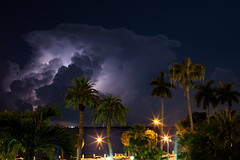 Lightning Storm (ctanner999) Tags: light storm bay district bolt lightening financial brickell miamifloridamiami flcanon5dmarkiicanon5dmarkiisunny