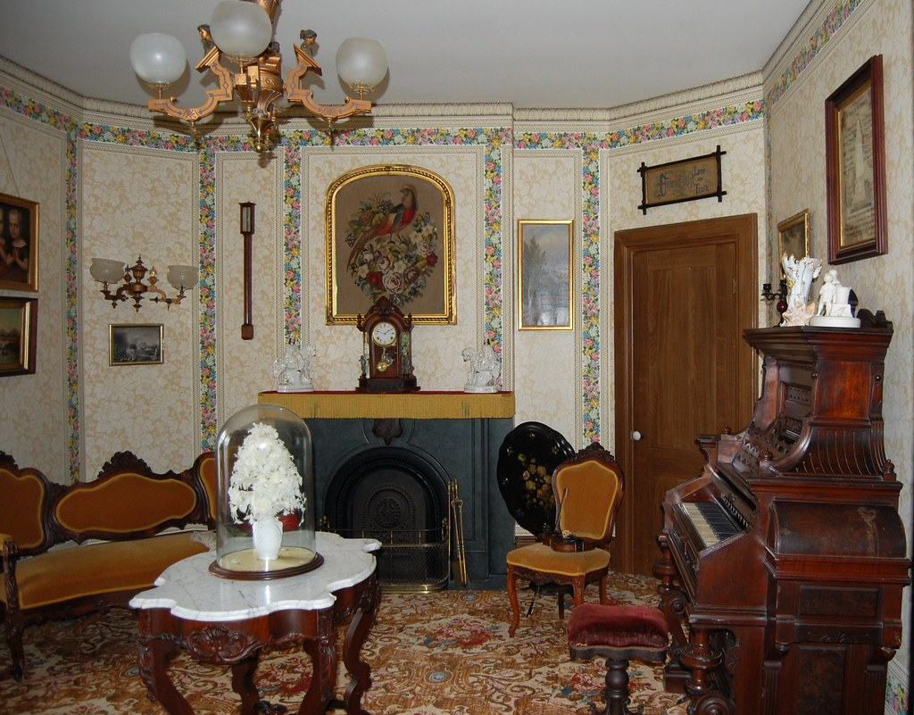 Genesee Country Museum - Hyde  House  - Parlor
