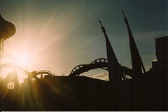 (Alex Handler) Tags: world light sunset film harry potter roller coaster wizarding