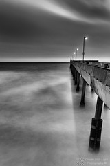 """Pacifica Pier Portrait"" - Create With Light Photography  (grantmurrayphotography) Tags: sanfrancisco california longexposure sunset sea blackandwhite seascape canada nature vancouver clouds landscape pier dusk pacificapier britishcoulmbia doublyniceshot grantmurray mygearandmegold mygearandmeplatinum mygearandmediamond ringexcellence dblringexcellence createwithlightphotography"