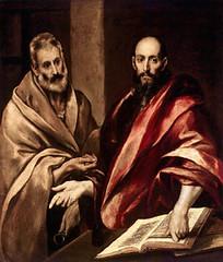El Greco (+1614) Santos Pedro y Pablo