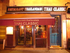 Thai Classic restaurant in the Marais