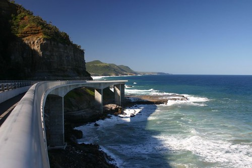 The amazing Sea Cliff Bridge, NSW.