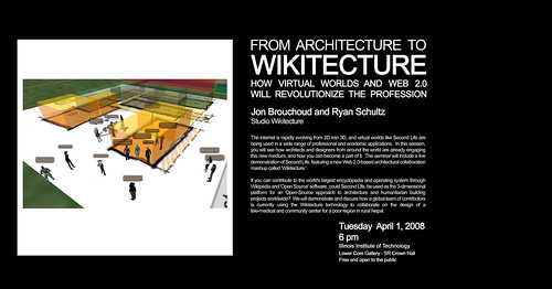 Wikitects in the Windy City and Life 2.0