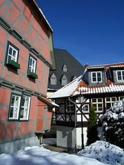 Fachwerk im Harz (HP-TEACHER) Tags: houses architecture easter harz wernigerode fachwerk timberframed schief hpteacher