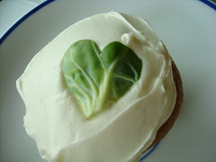 Brussels Sprout Cupcake